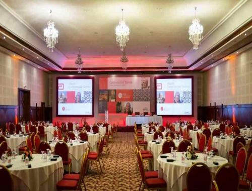 Location de salles plénières à Marrakech pour votre congrès et l'organisation de tout autre évènement