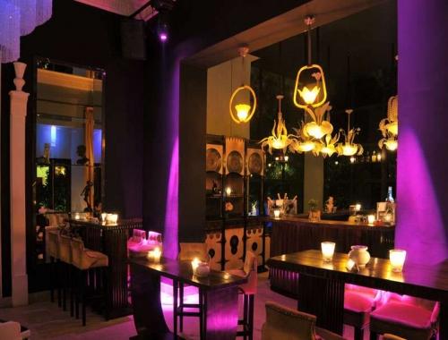 Restaurants à Marrakech pour événements : Lotus Club, Jad Mahal, ...