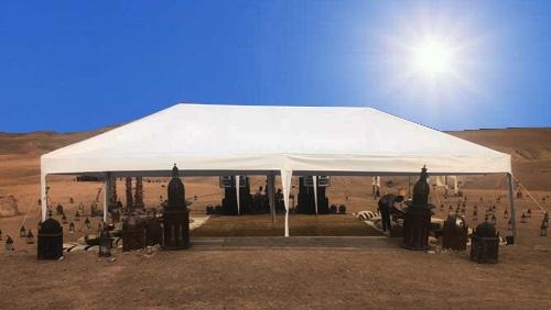 Location et Installation de Tentes et Bivouacs pour Evènement à Marrakech