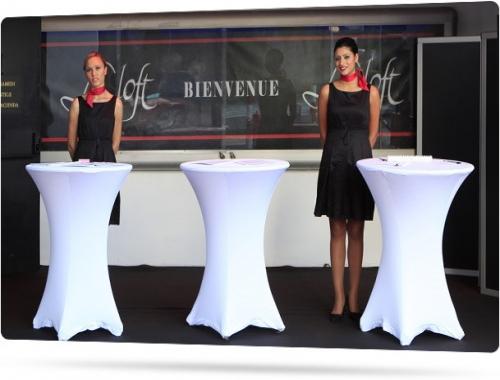 Hôtesses Accueil à Marrakech, Welcome hostess Marrakesh. profils présentables et expérimentés