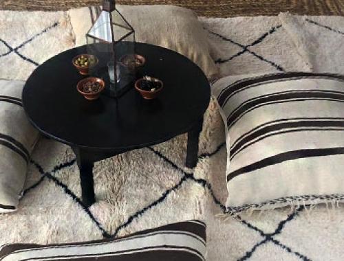 Location de Poufs pour evenements à Marrakech