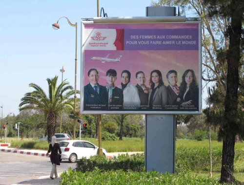 Affichages par Panneaux publicitaires à Marrakech et au Maroc
